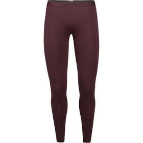 Icebreaker 150 Zone Leggings Dames, redwood